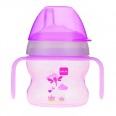 MAM Starter Cup with Handles, Girl, 5oz, 1count