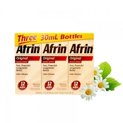 Afrin Original Nasal Spray, 3 Bottles