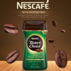 Taster's Choice House Blend Decaf Instant coffee