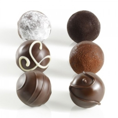 GODIVA Dark Decadence Truffle Flight, 6pc, 3.9oz