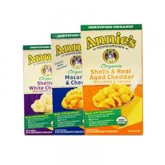 Annie's Organic Macaroni & Cheese,Variety Pack