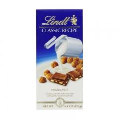 Lindt Classic Recipe Hazelnut Milk Chocolate Bar