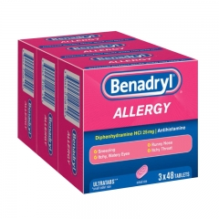 Benadryl Allergy 3X48ct