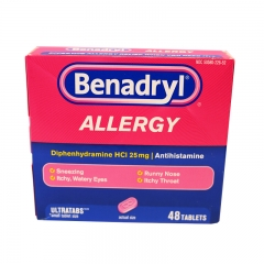 Benadryl Allergy 48ct
