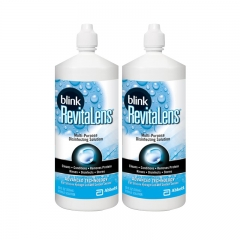 Blink Revitalens Disinfecting Solution, 16oz x2