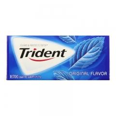 Trident Sugar Free Gum, 18 Sticks