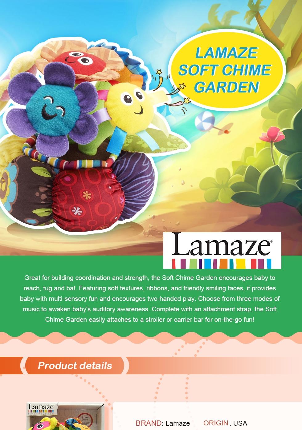 Lamaze Soft Chime Garden savefavor
