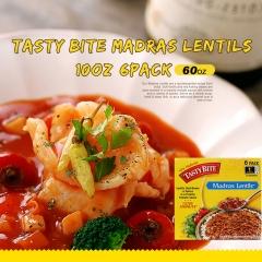Tasty Bite Madras Lentils, 10oz, 6pack