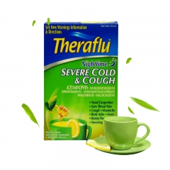 Theraflu Nighttime Severe Cold & Cough, 6 pack