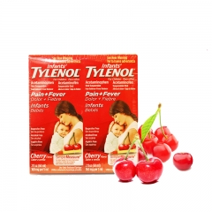 Infants'Tylenol Pain+Fever Cherry Flavor,2*2 fl oz