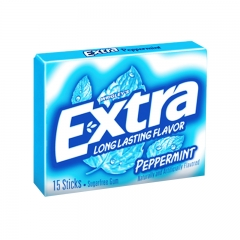 Extra Gum Peppermint, 15pcs