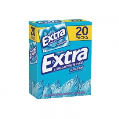 Extra Gum Peppermint, 20pk