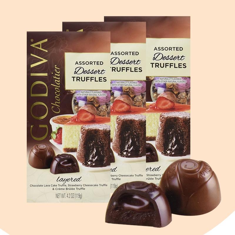Godiva Assorted Dessert Truffles 42oz Savefavor