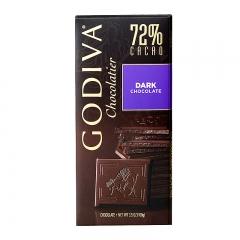 Godiva 72% Cacao Dark Chocolate Bar, 3.5oz