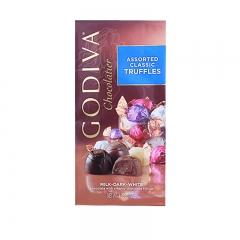 Godiva Assorted Classic Truffles, 4.25oz