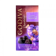 Godiva Dark Chocolate Truffles, 4oz