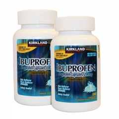 Kirkland Ibuprofen Capsules Liquid Softgels, 200mg