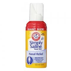 Arm&Hammer Simply Saline Nasal Mist,4.25ozx3