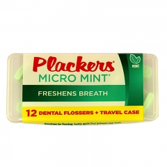 Plackers Dental Flossers Micro Mint, 564 Count