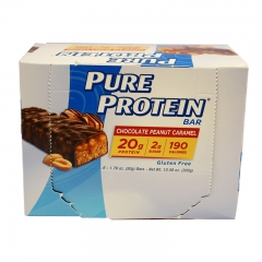 Pure Protein Bar Chocolate Peanut Caramel, 6Bars