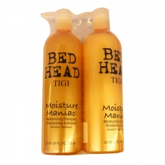 Tigi Bed Head Moisture Maniac Moisturizing Shampoo 25.36oz(750ml) & Moisturizing Conditioner 25.36oz(750ml)
