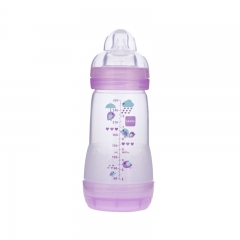 MAM Anti-Colic Bottle, Girl, 9 oz, 2 count