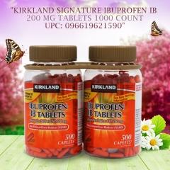 Kirkland Signature Ibuprofen IB 1000 Tablets
