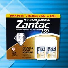 Zantac 150 Maximum Strength Tablets, Regular