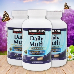 Kirkland Signature Daily Multi Vitamins & Mine