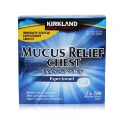 Kirkland Signature Mucus Relief Chest Expectorant