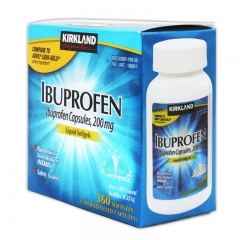 Kirkland Signature Ibuprofen Liquid Softgels 360ct