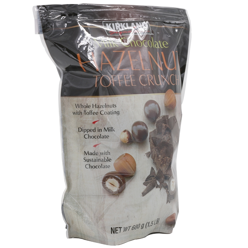Kirkland Milk Chocolate Hazelnut Toffee Crunch 1 5 lb
