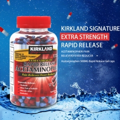 Kirkland Signature Extra Strength Rapid Release Acetaminophen Pain Reliever/Fever Reducer