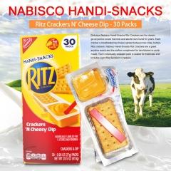 Nabisco Handi-Snacks Ritz Crackers N' Cheese Dip - 30 Packs