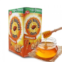 Post Honey Bunches of Oats Honey Roasted 2 Bags Net Wt 48oz