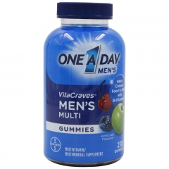 Men's Vitacraves Gummies Adult Multivitamin 230 Gummies by Bayer