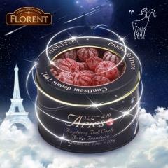 Florent  Twelve Horoscopes Candy Aries Raspberry Ball Candy