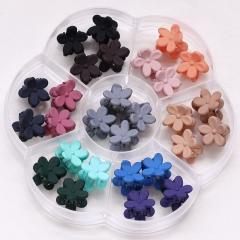 savefavor bangs mini hair claw clip hair pin for little girls Random Assorted colored (30 Pack)