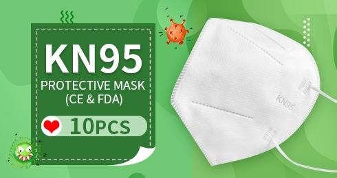 KN95 Protective Mask (CE & FDA) 10PCS