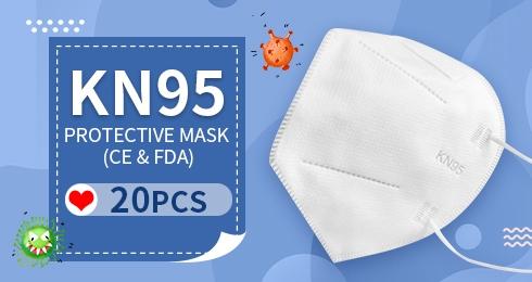 KN95 Protective Mask (CE & FDA) 20PCS
