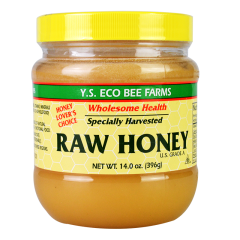 Y.S. ECO BEE FARMS Raw Honey 14oz
